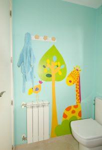 Pinturas animales en paredes
