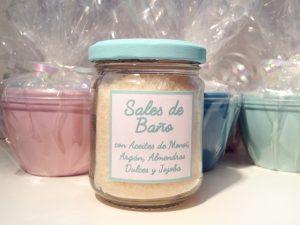 bath salts in jar
