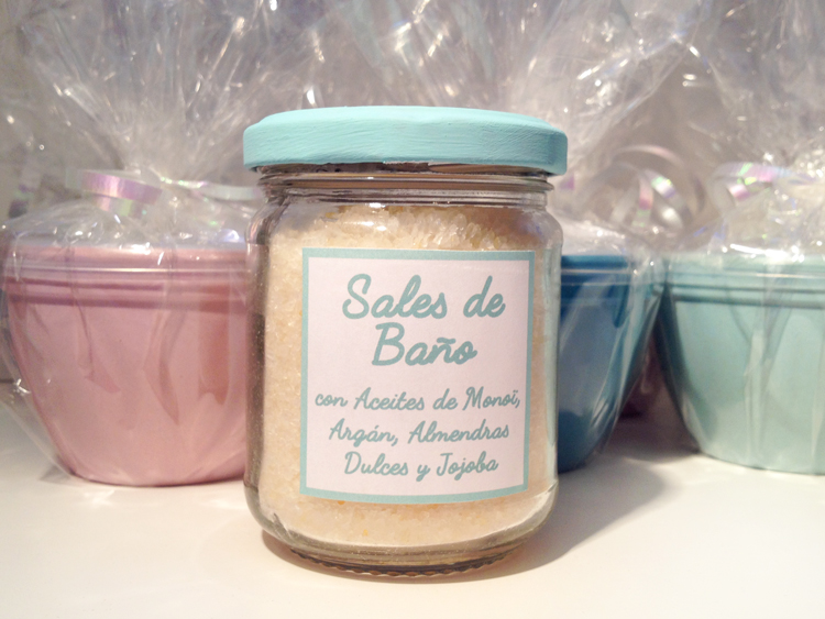 bath salts in jar