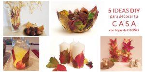 Ideas DIY hojas otoño