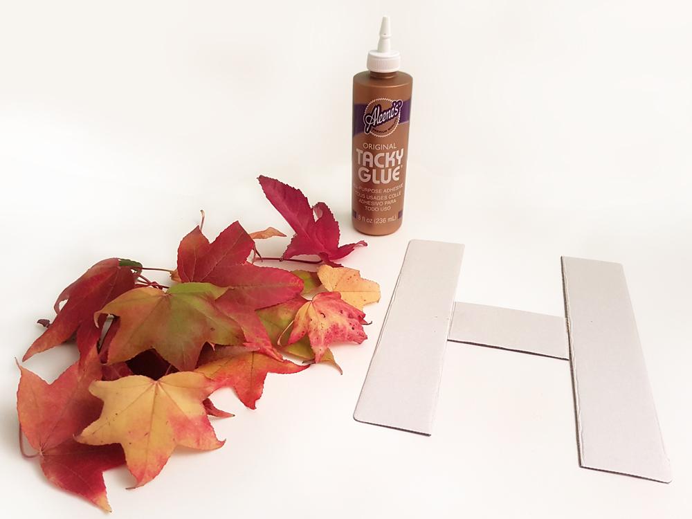 materiales letra hojas