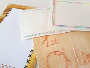 Ideas para bordar papel scrapbooking