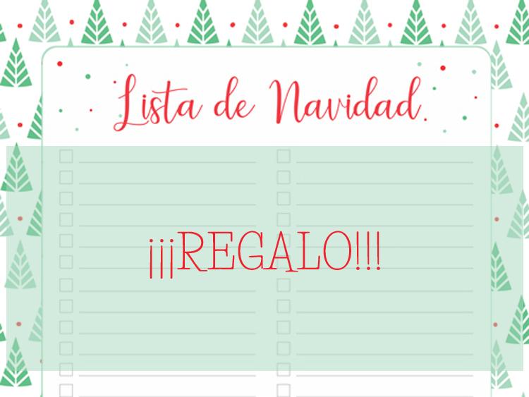 Lista de Navidad REGALO