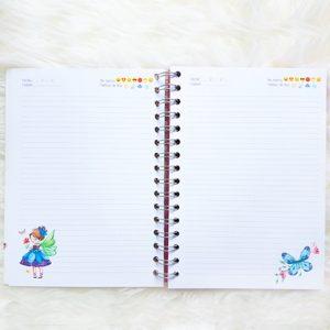 diario mariposas y hadas paginas interiores
