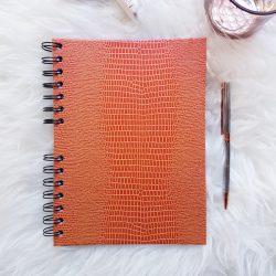 Agenda Serpiente Naranja