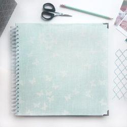 Album mariposas verde grande portada