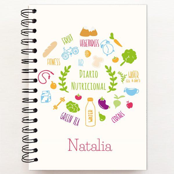 Diario nutricional healthy portada