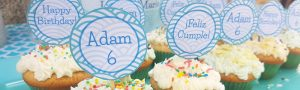 Cupcake toppers party