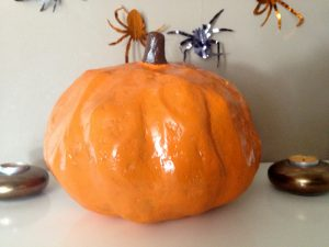 orange decorative halloween pumpkin