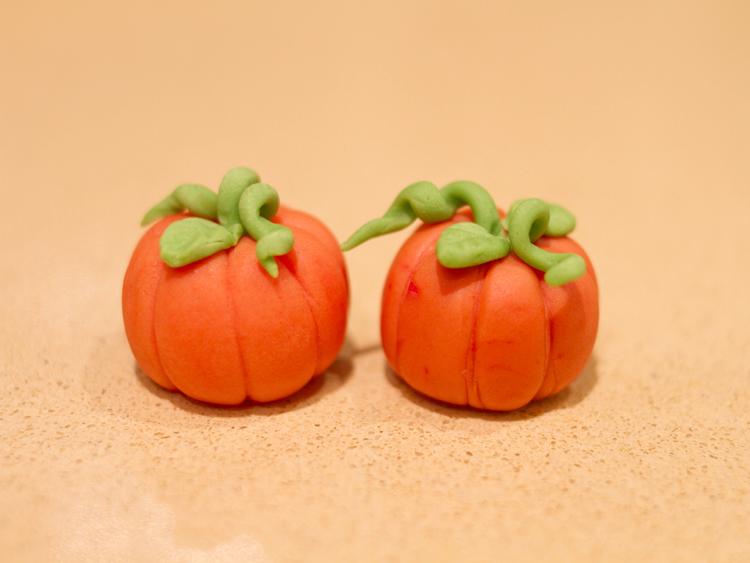 Fondant Cupcakes Halloween