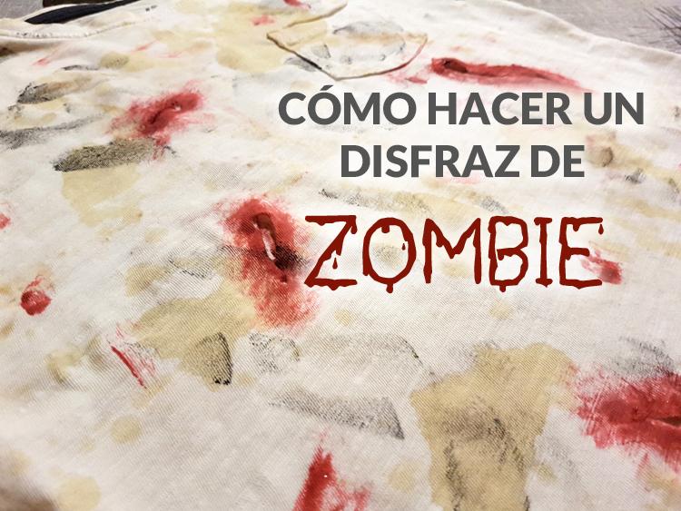 Portada disfraz zombie