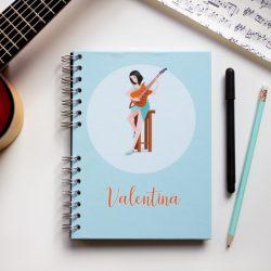 Cuaderno imagen personalizada