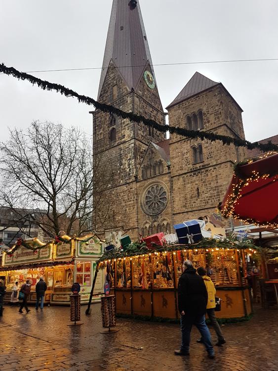 Mercadillo navidad Alemania arquitectura
