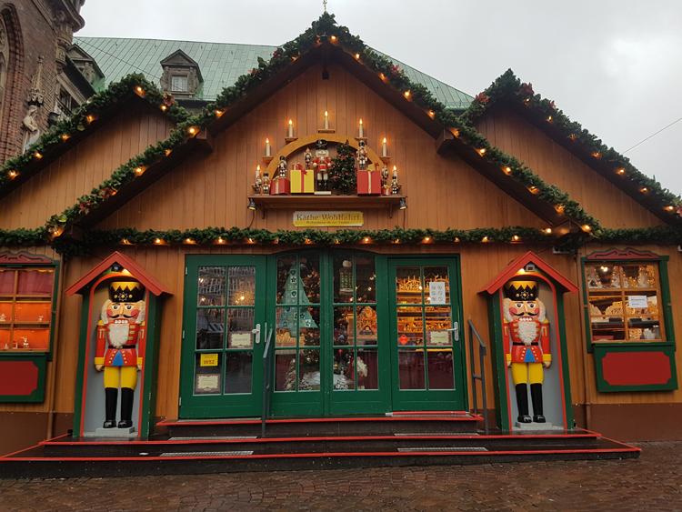 Mercadillo Navidad tienda Cascanueces