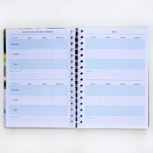 Agenda Nutricional planificación de comidas