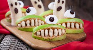 receta halloween bocaditos monstruo