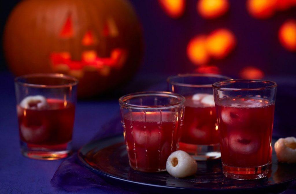 Receta halloween bebida sangre