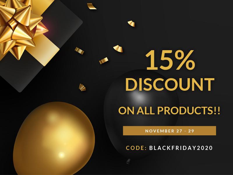 black friday discount home header