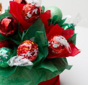 centro bombones navidad pequeño detalle
