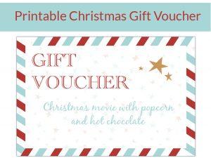 christmas gift voucher english