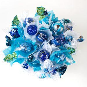 candy bouquet copo nieve arriba