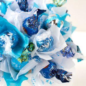 candy bouquet copo nieve detalle