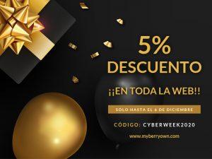descuento cyber week 2020