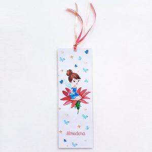 marcapaginas personalizado hadas y mariposas