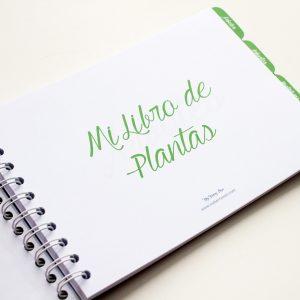 Libro de plantas primera pagina